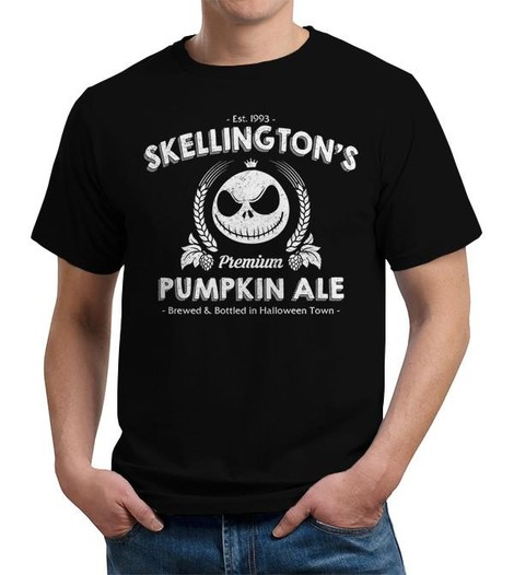Nightmare Before Christmas Skellington's Pumpkin Ale t-shirt