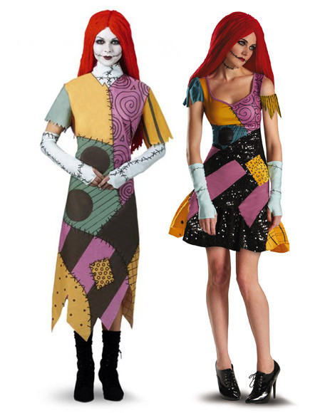 Sally Nightmare Before Christmas Costume Kids