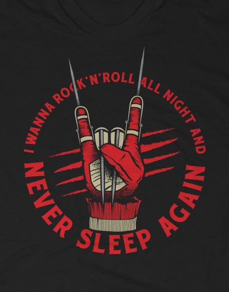 Freddy Nightmare on Elm Street t-shirt