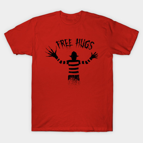 A Nightmare on Elm Street Free Hugs tee