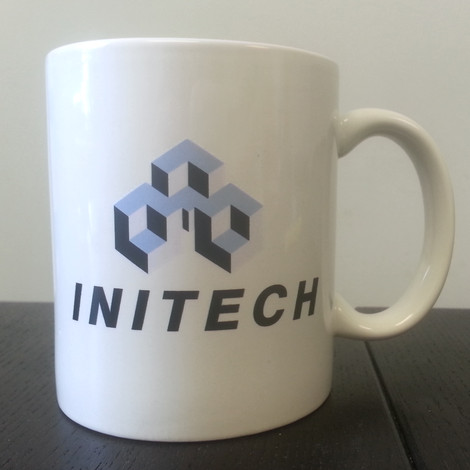 office space coffee mug.  coffee office space initech coffee mug with e