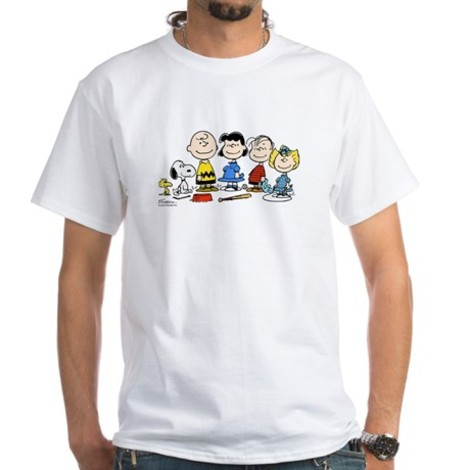 Peanuts Characters Christmas t Shirts Gang Charlie Brown T-shirt