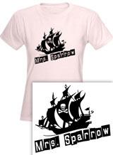 Mrs. Sparrow tee