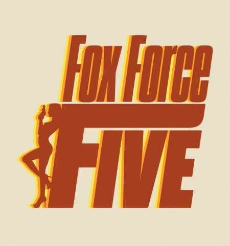 Fox Force Five Pulp Fiction t-shirts