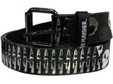 Punisher Leather Belt