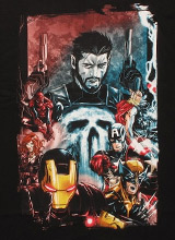 Punisher Frank Castle t-shirt