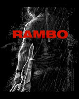 rambo 4 movie poster tee