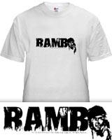 Rambo 4 t-shirt
