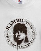 Rambo 4 Stallone t-shirt