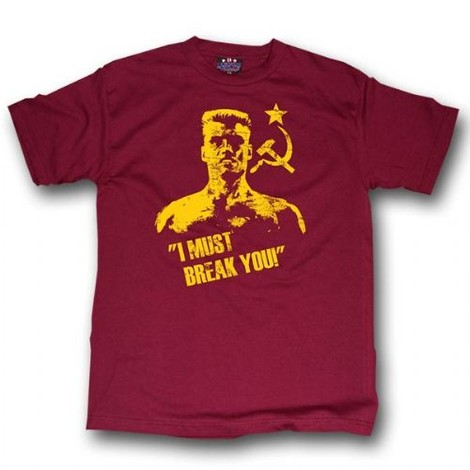 Rocky Drago I Must Break You tee