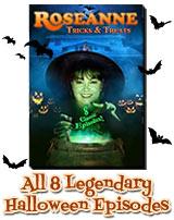 Roseanne Halloween DVD