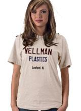 Wellman Plastics tee
