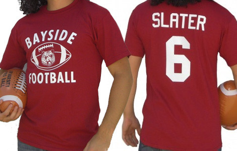 20fb363ecf23 Saved by the Bell Slater Football Jersey t-shirt