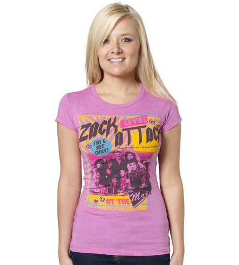 Zack Attack Saved by the Bell t-shirt