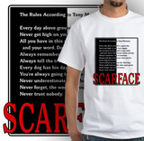 scarface rules t-shirt