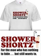 Shower Shortz Zach Braff t-shirt