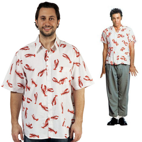 Seinfeld Kramer Lobster shirt