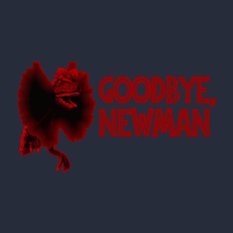 Jurassic Newman t-shirt