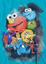 Sesame Street Avengers tee