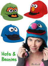 Character Sesame Street Hats
