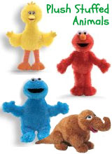 Sesame Street Stuffed Animals