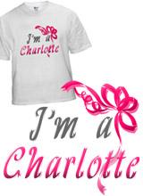 I'm a Charlotte t-shirt