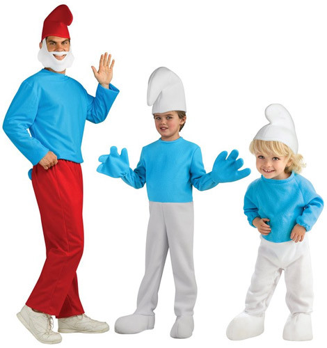 Smurfette and Smurf Costumes