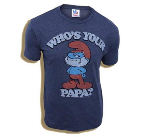 Papa Smurf shirt