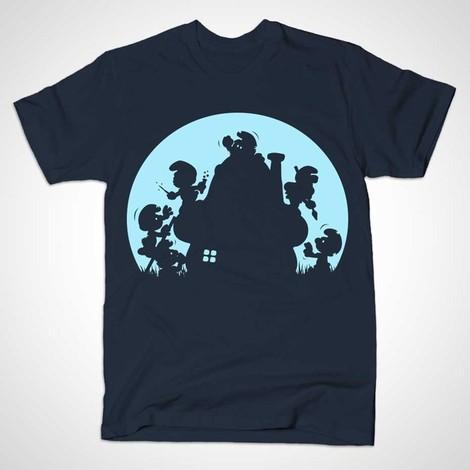 Smurf Zombie shirts