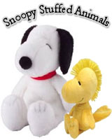 Snoopy Plush Dog and Figures