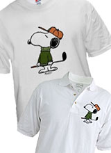 Snoopy Golf t-shirt