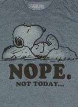 Awesome Snoopy tee
