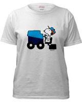 Snoopy Zamboni tee