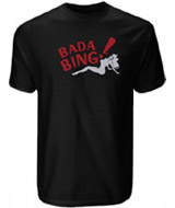 bada bing t-shirt and thong