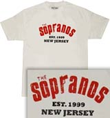 The Sopranos Collegiate tee