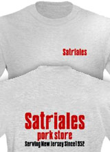 sopranos t-shirts Satriale's logo