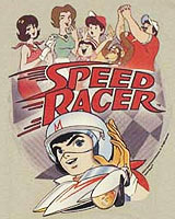 cast speed racer tee