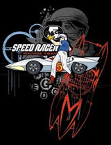 Go Speed Racer Go t-shirt