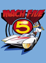 costume speed racer Mach 5 t-shirt