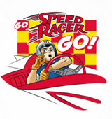 Go Speed Racer t-shirts
