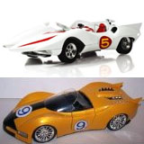 Speed Racer Diecast Cars Mach 5, Shooting Star