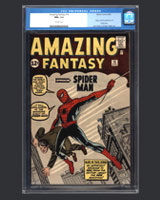 Amazing Fantasy #15 Spider-Man Comic Book