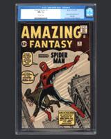 Amazing Fantasy #15 Spider-Man Comic Book