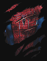 Chest Tear Amazing Spider-Man tee