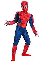 Adult and Kids Spider-Man costumes