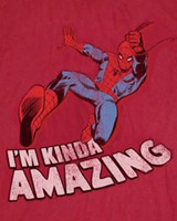 Web Amazing Spider-man t-shirt