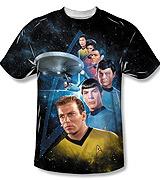 Star Trek Classic Crew tee