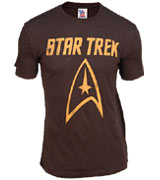 Star Trek Gold Logo tee