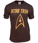 Star Trek Gold Logo tee
