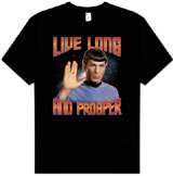 Live Long and Prosper Quote
